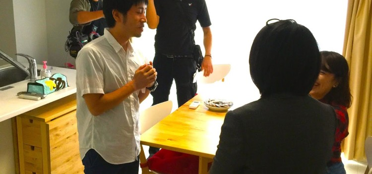 NHKバリバラのインタビュー収録