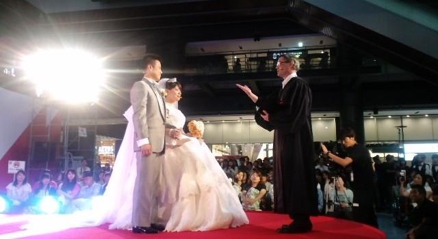 バリコレでの結婚式、最高の思い出になりました!