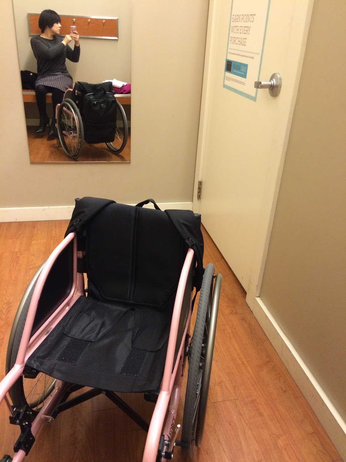 Awesome Fitting Room For Wheelchair Users in the U.S.