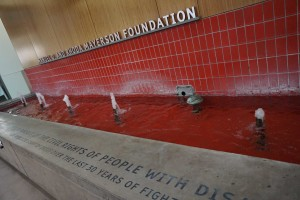Ed Roberts Campus Water Fountain