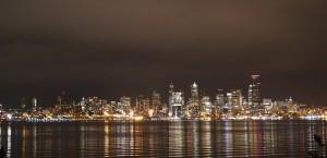 Seattle Night View Moon Rider 7