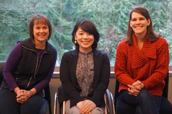 From left: Teresa, Mizuki, Nicole