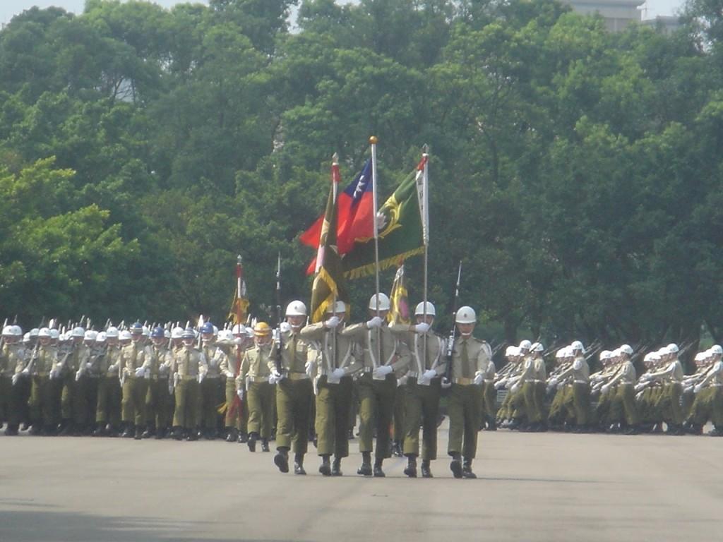 ジェフの兵役訓練卒業式