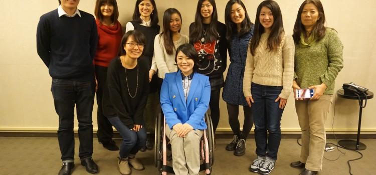 シアトルの日本人留学生に向けて講演させていただきました