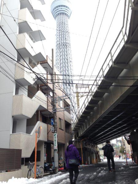 東京スカイツリーを観光