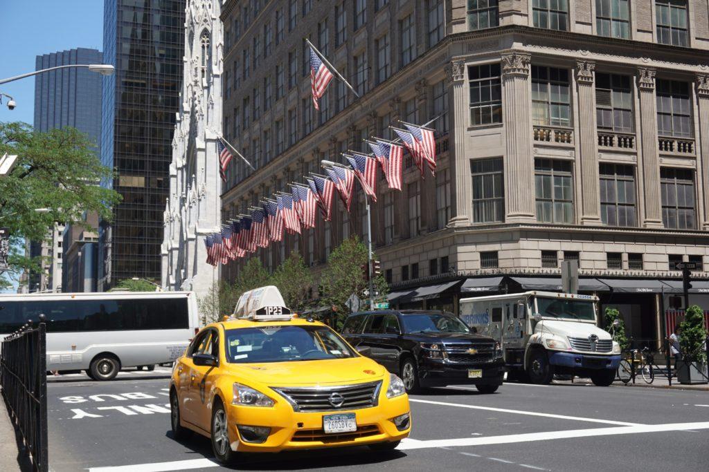 5th Ave. in Manhattan