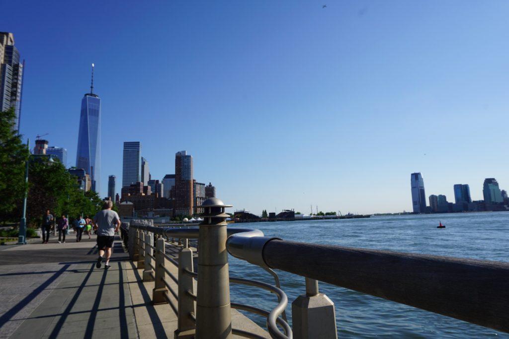 Beautiful Hudson River Park