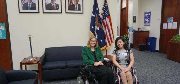 Interview at the U.S. Department of Labor: Keys to Promote Employment of People with Disabilities