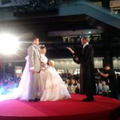 The Best Wedding Ceremony at Fashion Show!